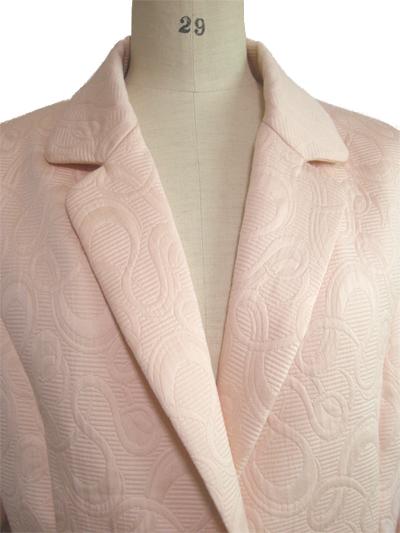 イタリー製綿ジャガードの上着 拡大写真